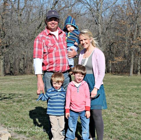 Easter family photo 2013