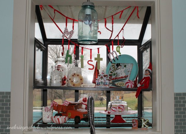 Christmas window at onekriegerchick.wordpress.com