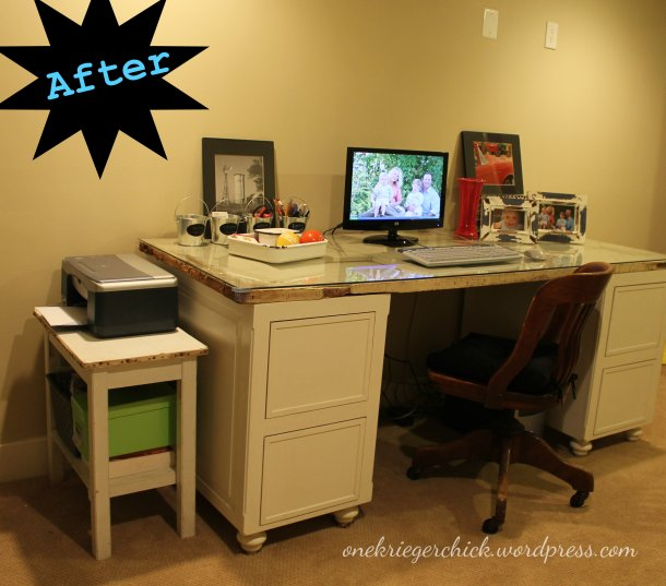 An Organized Office at onekriegerchick.wordpress.com