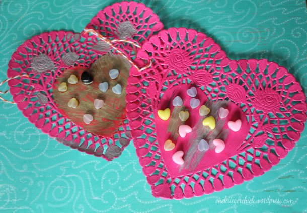 Hanging hearts {onekriegerchick.wordpress.com}