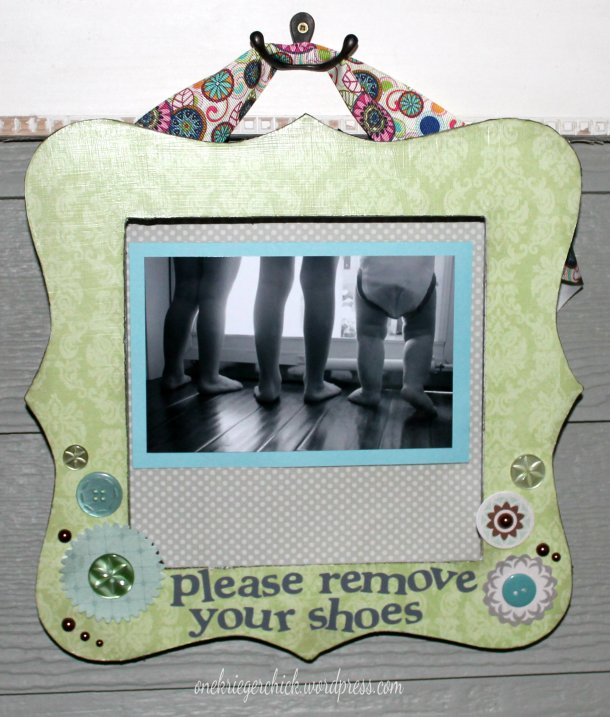 Please Remove Your Shoes {onekriegerchick.wordpress.com}