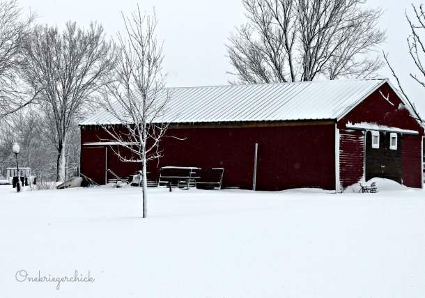 red barn {Onekriegerchick.com}