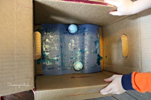 snowball art {Onekriegerchick.com}