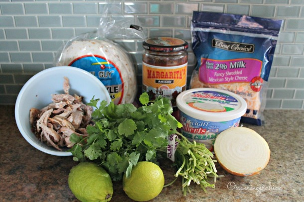 Ingredients for Cilantro Lime Tacos {Onekriegerchick.com}