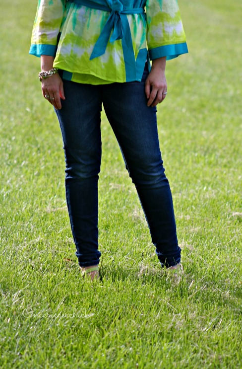 turquoise, lime & denim {Onekriegerchick.com}