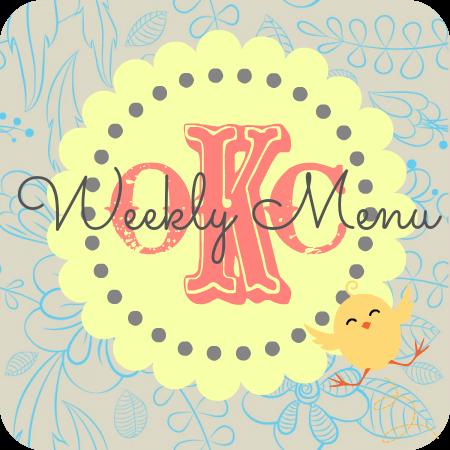 weekly menu